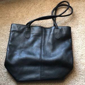 Vintage Hobo International black bag